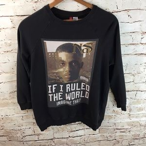 H&M Divided NAS It Was Written Album Sweatshirt